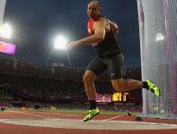 Niemiec Robert Harting został mistrzem olimpijskim w rzucie dyskiem (fot. Getty Images)