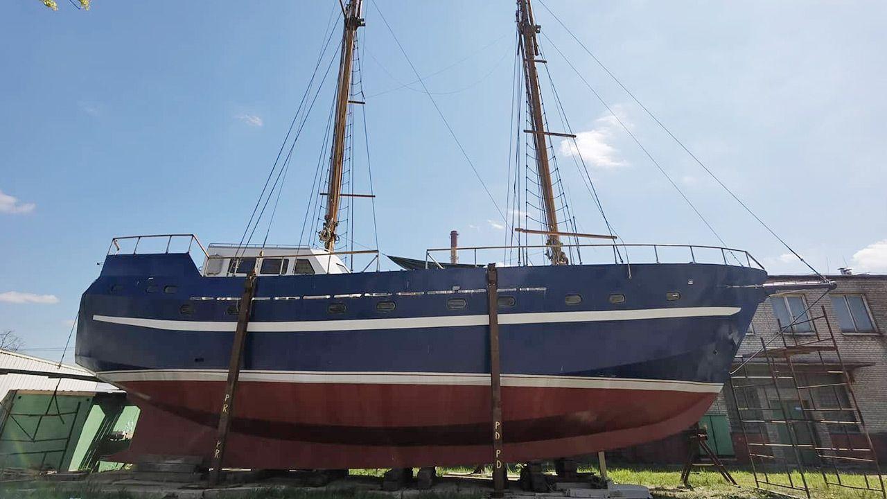 Pomysłodawcą budowy statku był o. Bogusław Paleczny (fot. Twoje Info)