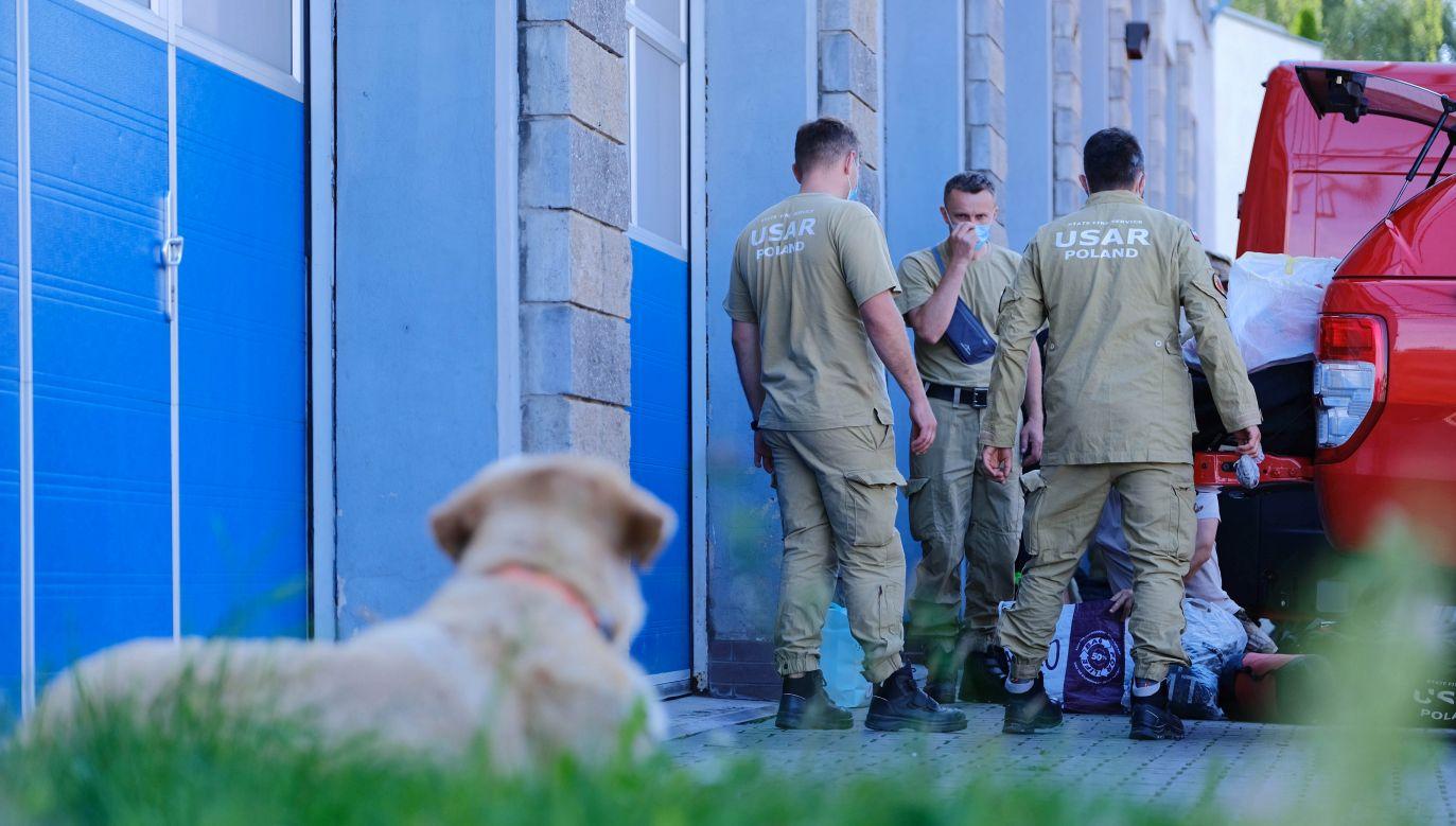 Wtorkowa eksplozja pochłonęła co najmniej 158 ofiar, ok. 6 tysięcy osób zostało rannych (fot. PAP/Mateusz Marek)