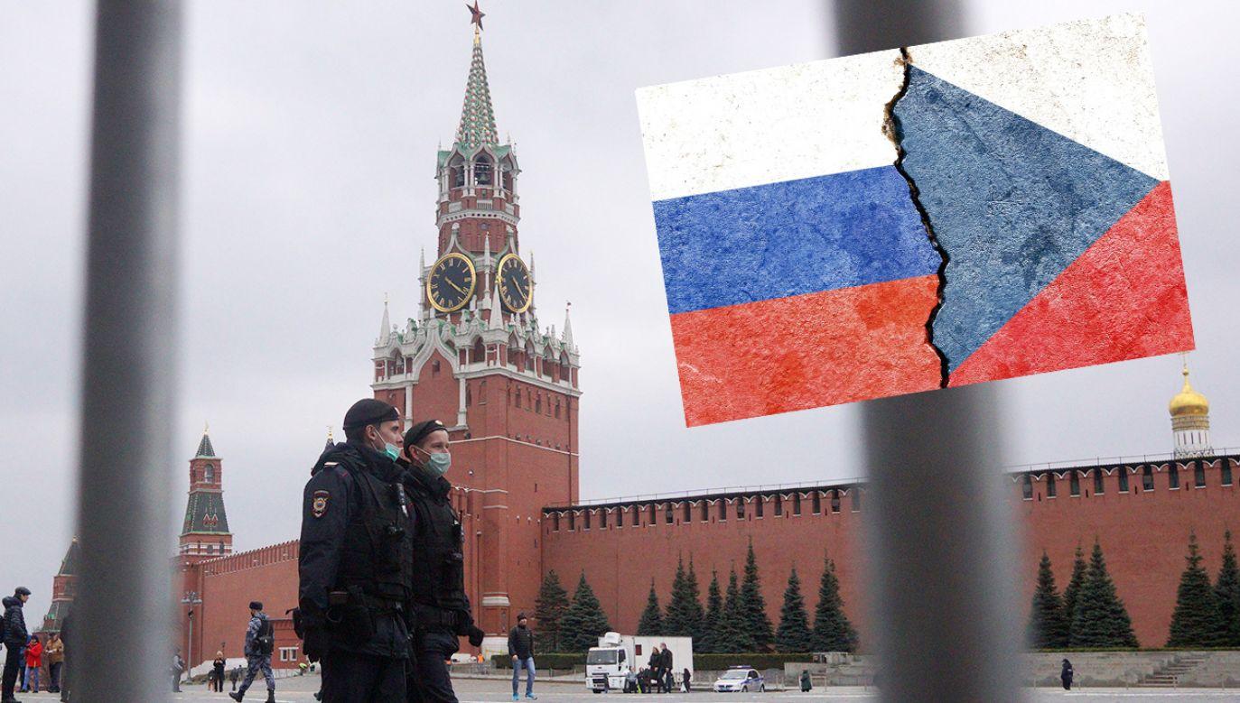 Dyplomatyczny konflikt między Rosją a Czechami się zaostrza (fot. Mikhail Svetlov/Getty Images; Shutterstock)