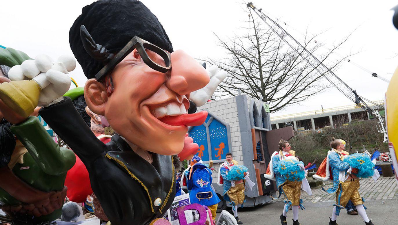 KE skrytykowała w poniedziałek tegoroczny festiwal karnawałowy w belgijskim Aalst, zarzucając mu antysemityzm (fot. PAP/EPA/STEPHANIE LECOCQ)