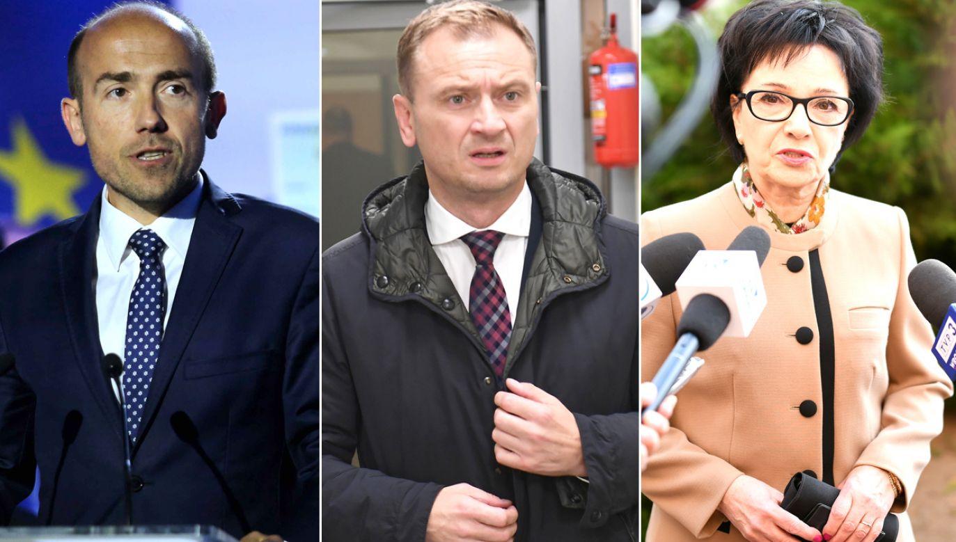 Portal tvp.info próbował skontaktować się z posłem PO. Ten nie odbiera telefonu (fot. PAP/Andrzej Grygiel, PAP/Marcin Bielecki, PAP/Sebastian Borowski)