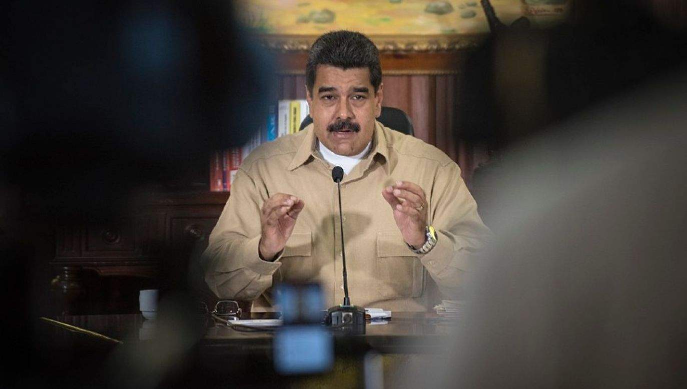 Nicolas Maduro ma kierować kartelem szmuglującym kokainę do USA (fot. Wiki 2.0/Eneas De Troya)
