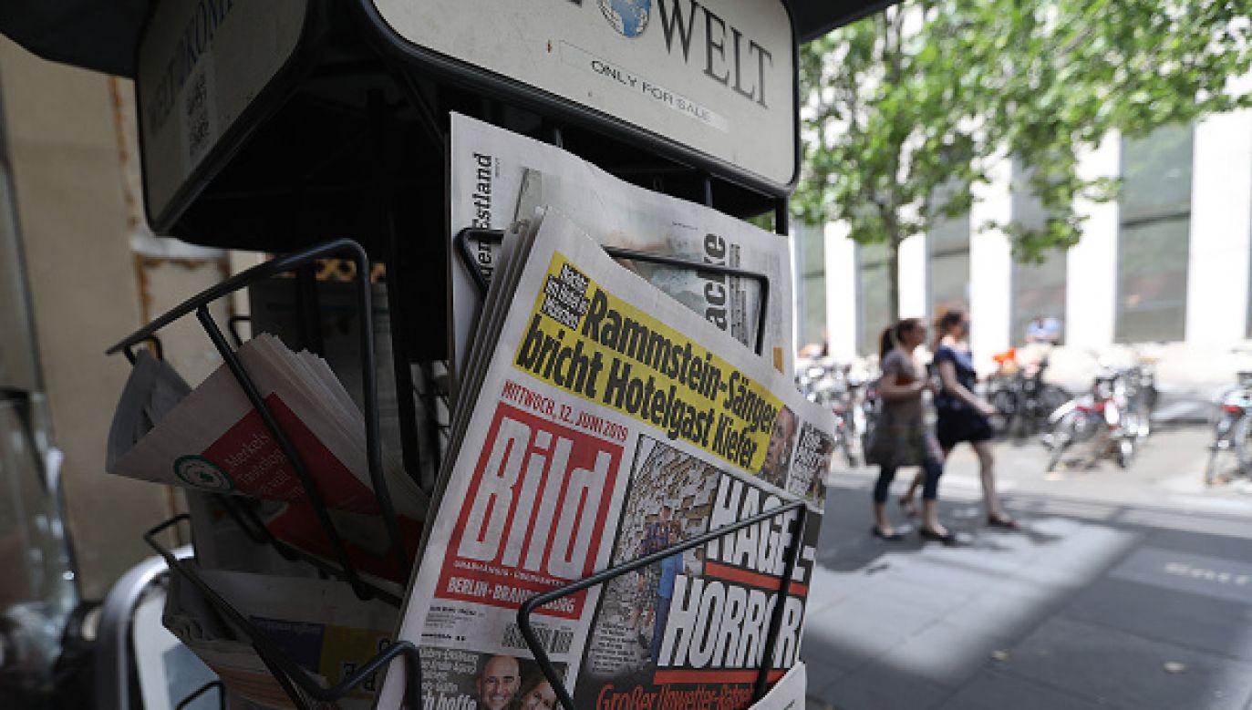 Niemiecki tabloid podlega koncernowi Axel Springer (fot. Getty Images)