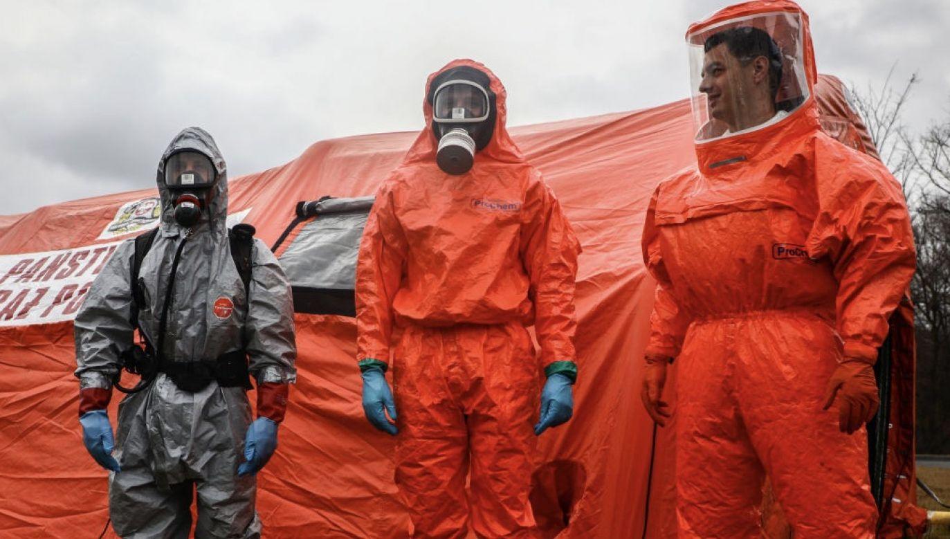 Pierwszy dodatni wynik testu na obecność koronawirusa został potwierdzony w ubiegłym tygodniu u pacjenta, u którego wystąpiła gorączka (fot. Beata Zawrzel/NurPhoto via Getty Images)