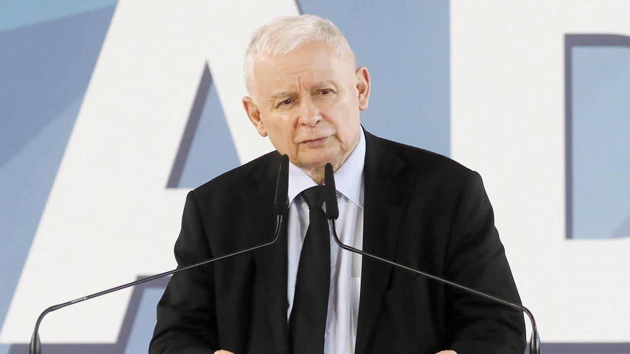 Jarosław Kaczyński (fot. PAP/Artur Reszko)