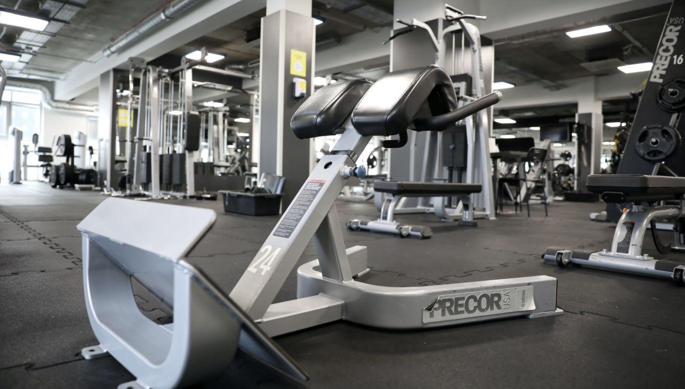 Premier pytany był, czy jest szansa na zniesienie obostrzeń i otwarcie klubów fitness (fot. PAP/Leszek Szymański)