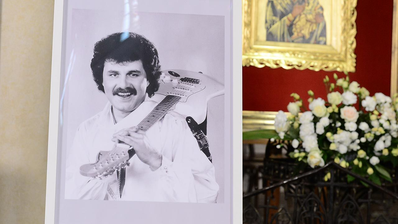 List prezydenta odczytano podczas sobotnich uroczystości pogrzebowych Krzysztofa Krawczyka (fot. Forum/Radoslaw Nawrocki)