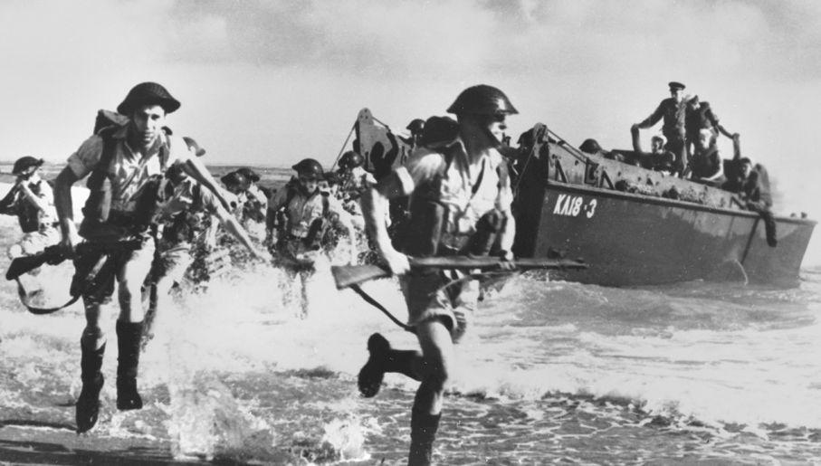W desancie wzięły udział tysiące żołnierzy (fot. Roger Viollet via Getty Images)