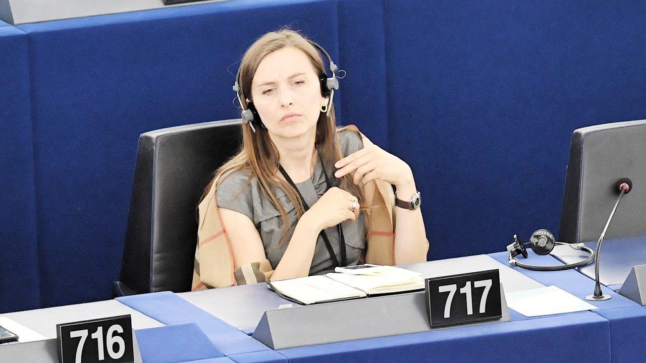 Sylwia Spurek domaga sięinterwencji UE przeciwko Polsce i Węgrom (fot. PAP/Radek Pietruszka)