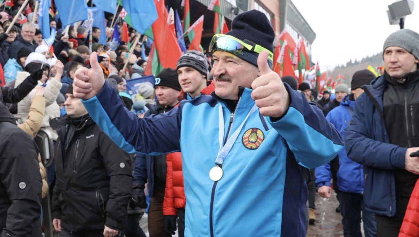 Protesty nie odsunęły Alaksandra Łukaszenki (fot. Maxim Guchek\TASS via Getty Images)