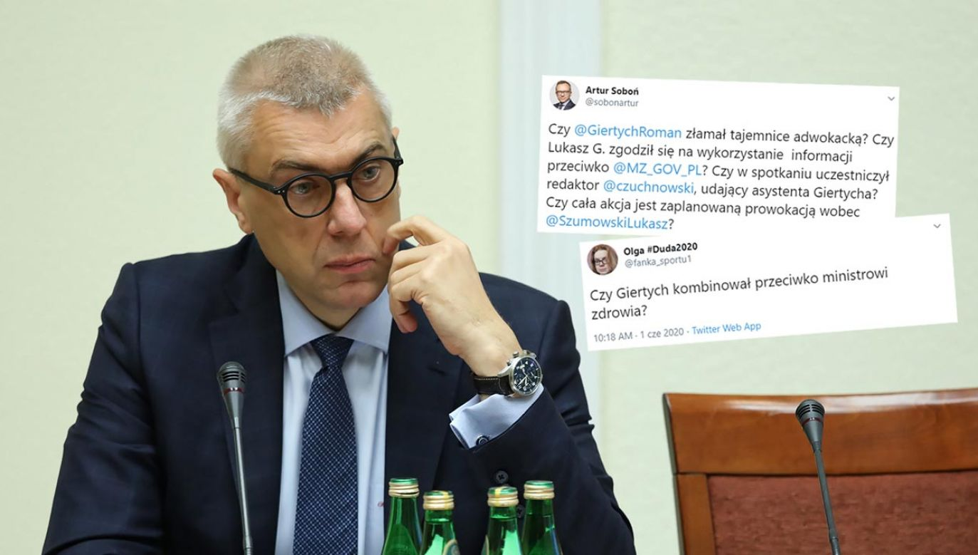 Internauci komentują sprawę z Romanem Giertychem (fot. arch. PAP/Tomasz Gzell)
