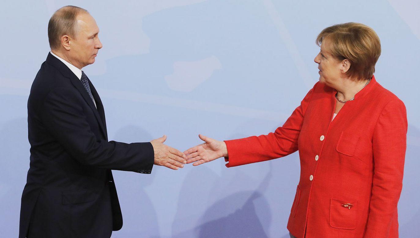 Niemcy zacieśniają współpracę z Rosją (fot. Mikhail Metzel\TASS via Getty Images)