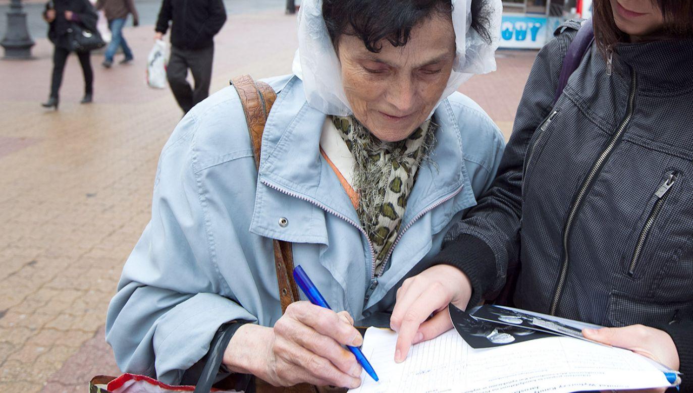 """""""Gdy ukonstytuują się okręgowe komisje wyborcze, przystąpimy do rejestracji list"""" (fot. arch.PAP/Grzegorz Michałowski)"""