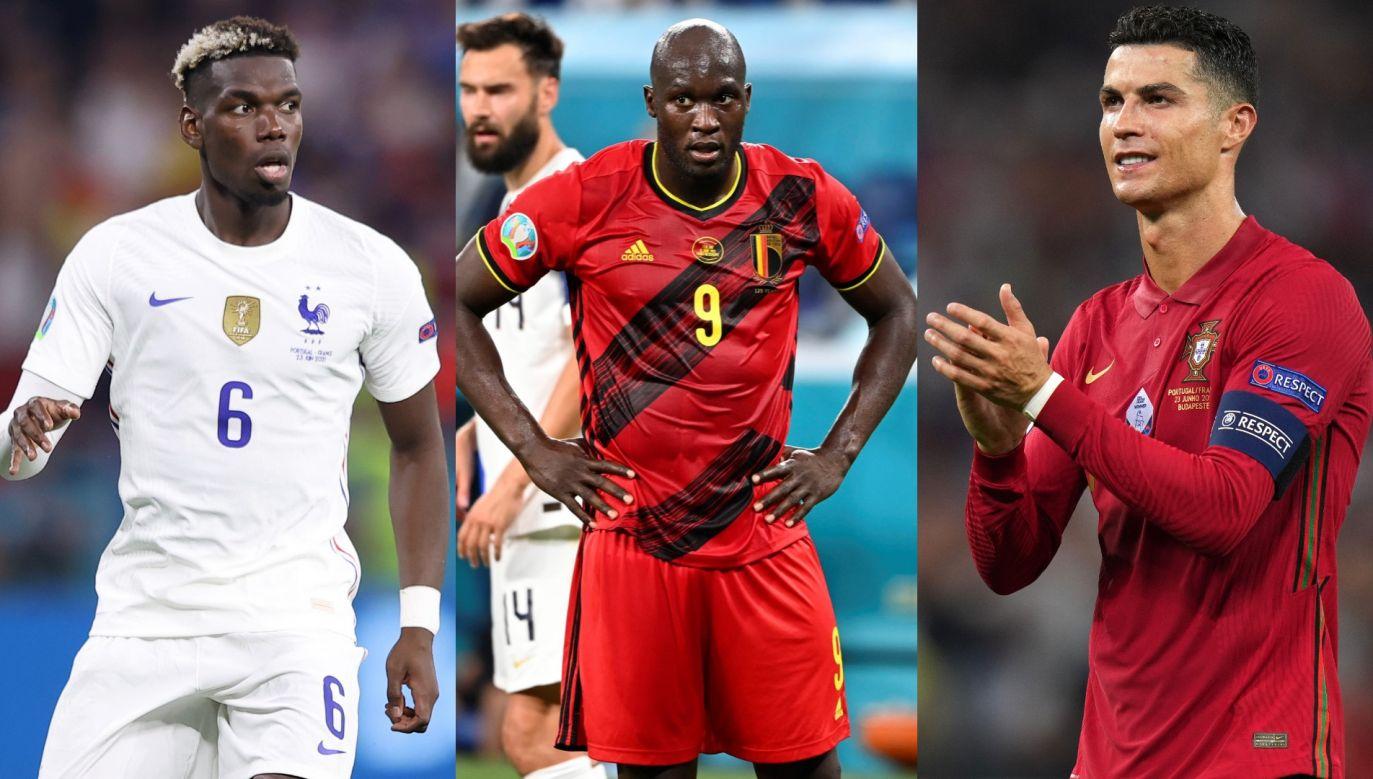 Paul Pogba, Romelu Lukaku i Cristiano Ronaldo (fot. Getty Images)