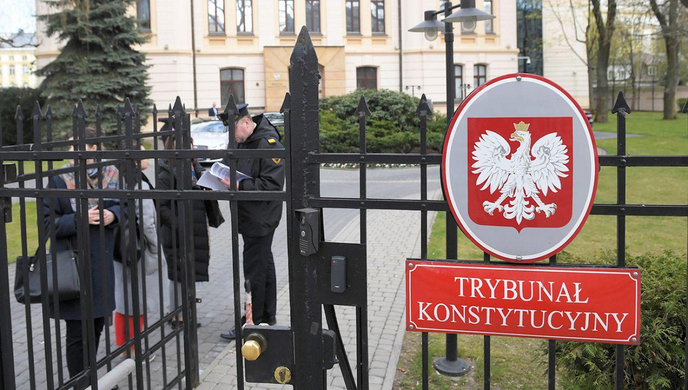 Nawet TK kierowany przez prof. Rzeplińskiego nie stwierdził, by uchwały o wyborze kwestionowanych przez KO sędziów były bezprawne (fot. arch.PAP/Radek Pietruszka)