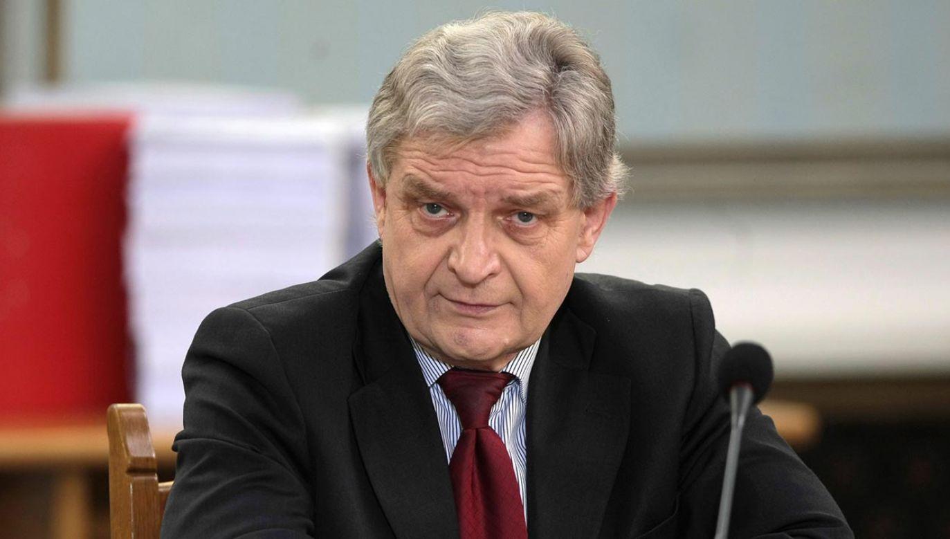 Zbigniew Wasserman został pośmiertnie odznaczony Krzyżem Komandorskim Orderu Odrodzenia Polski (fot. PAP/Leszek Szymański)