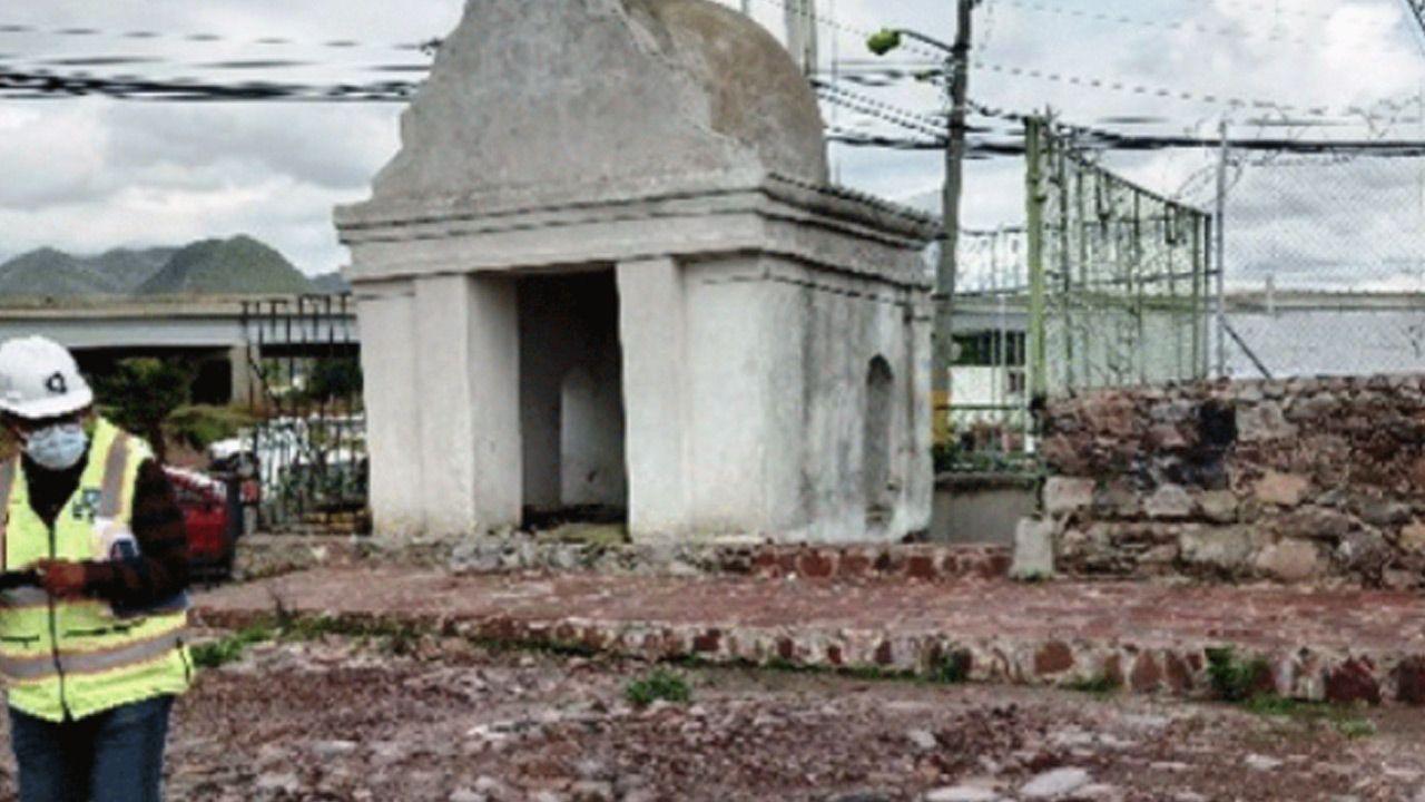 Tunel na obrzeżach miasta Meksyk zostanie zasypany (fot. www.inah.gob.mx)