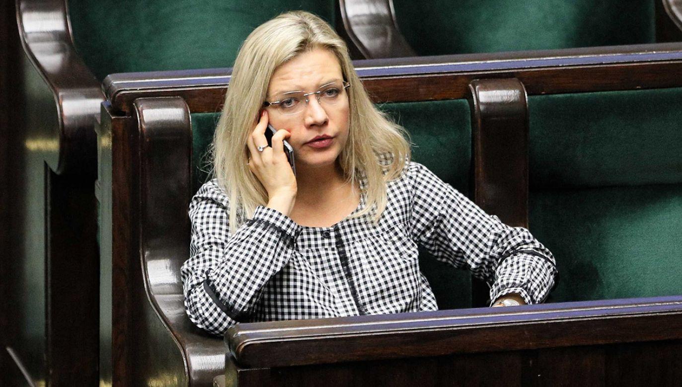 Małgorzata Wassermann (fot.PAP/Paweł Supernak)