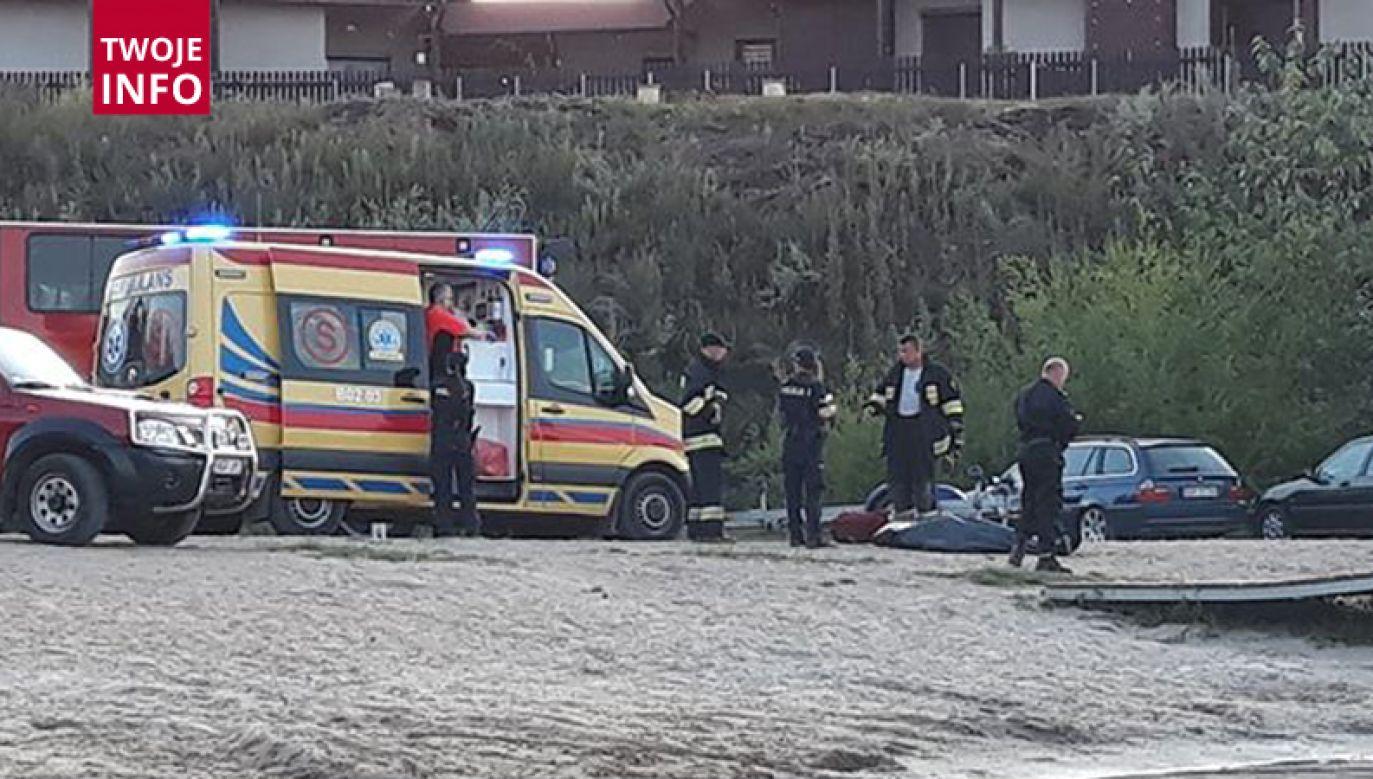 63-latka nie udało się uratować (fot. Twoje Info/Danuta)