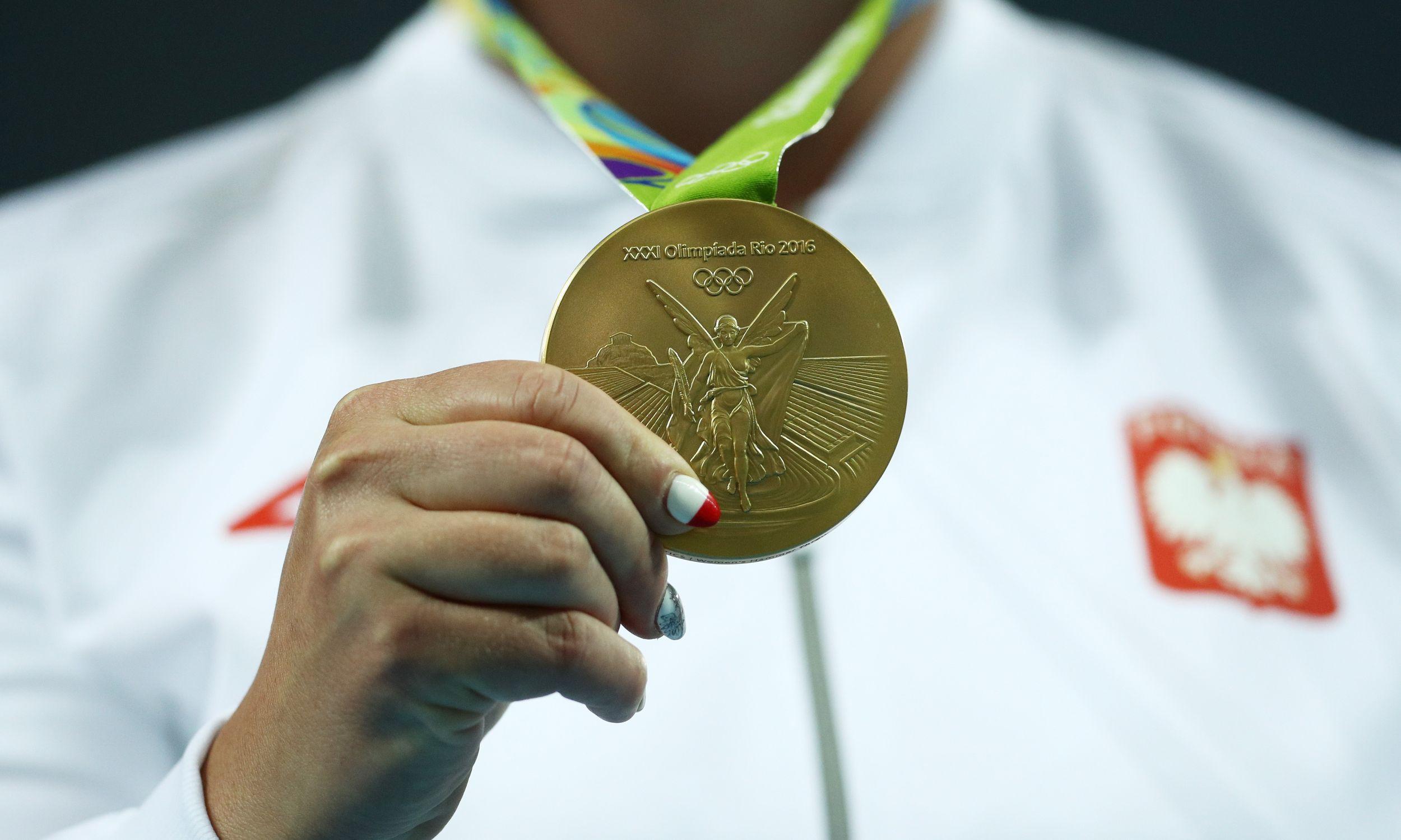 Złoty medal Anity Włodarczyk (fot. Patrick Smith - Getty Images)