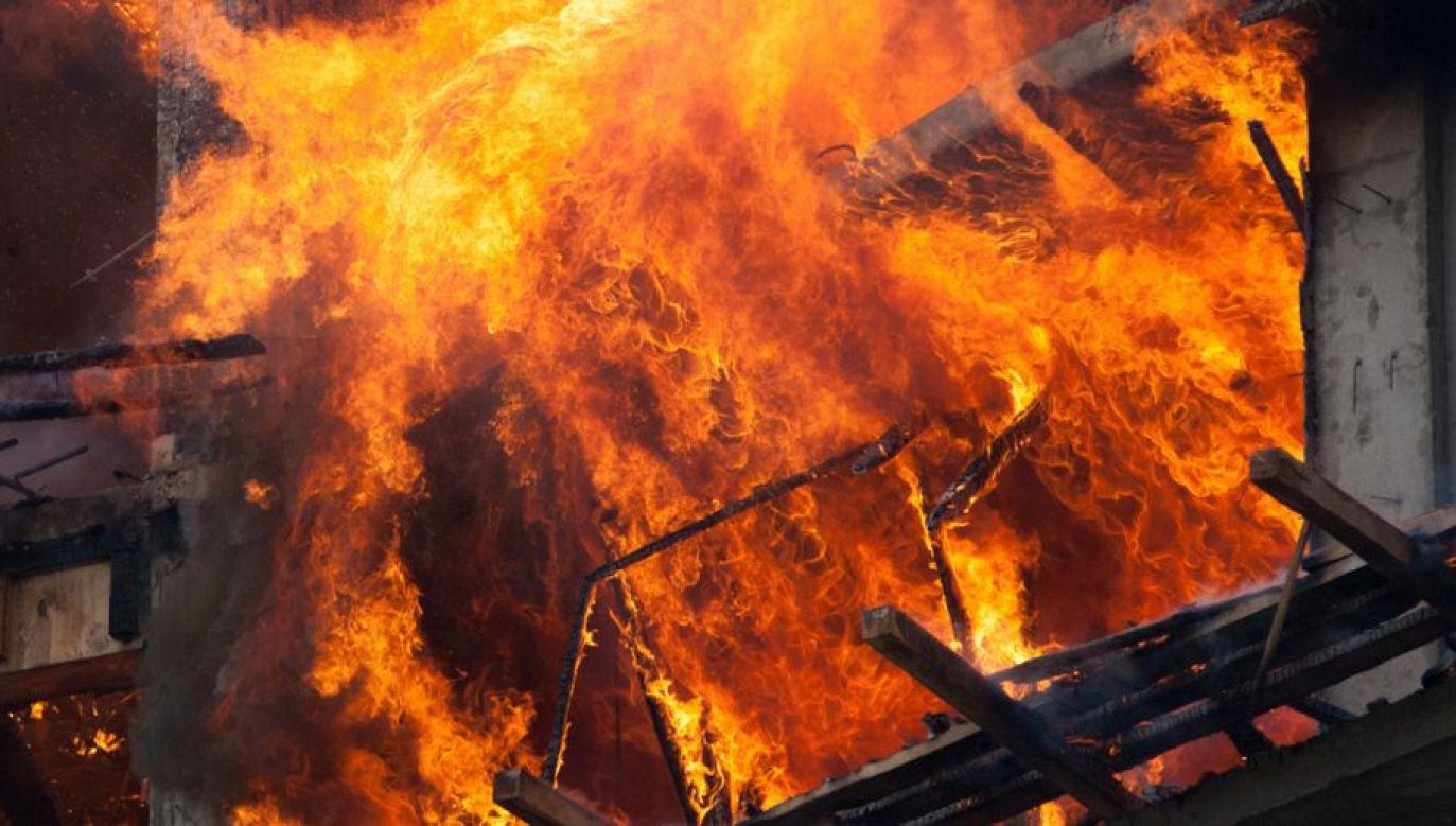 4 zastępy straży pożarnej gasiło pożar (for. Shutterstock/Jackan/zdjęcie ilustracyjne)