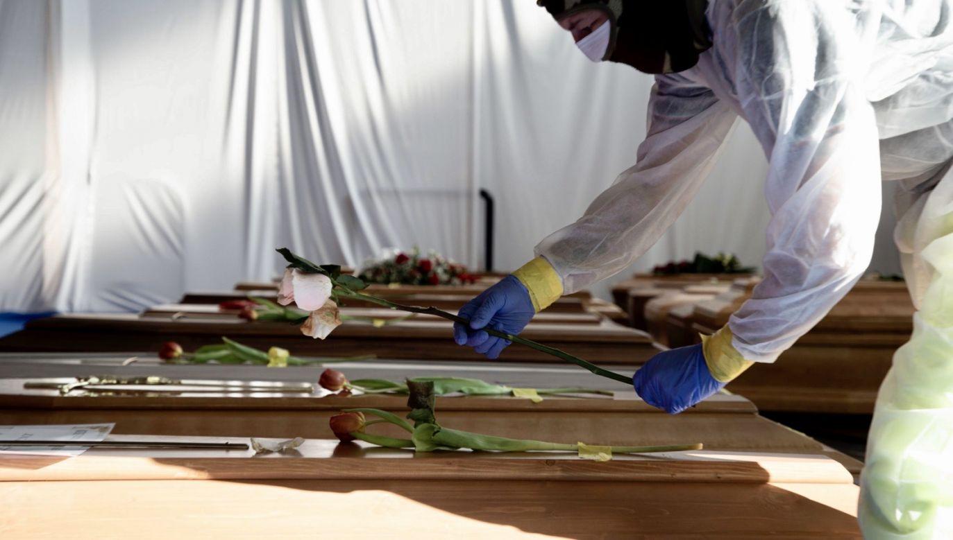 Dziecko kobiety przeżyło (fot. PAP/EPA/MARCO OTTICO)