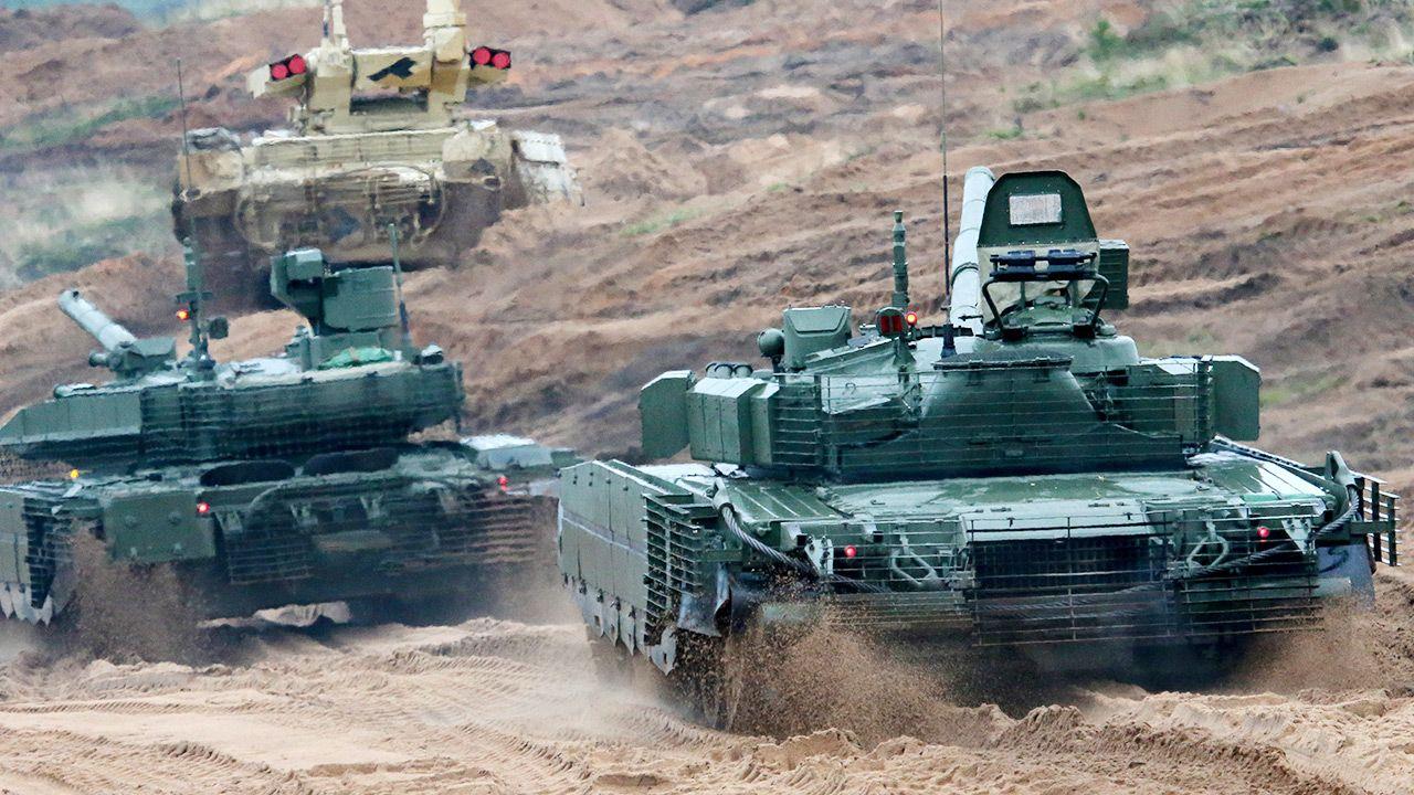 Ćwiczenia wojskowe odbędą się w pobliżu  naszych wschodnich granic (fot. Anton Novoderezhkin\TASS via Getty Images)