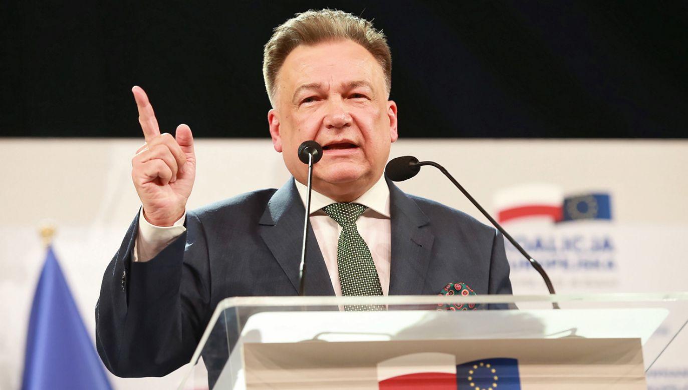 Marszałek Adam Struzik (fot. arch. PAP/Piotr Augustyniak)