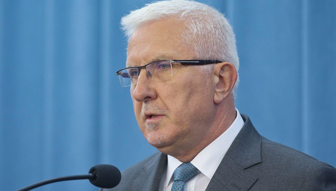Wadim Tyszkiewicz (fot. arch.PAP/Rafał Guz)