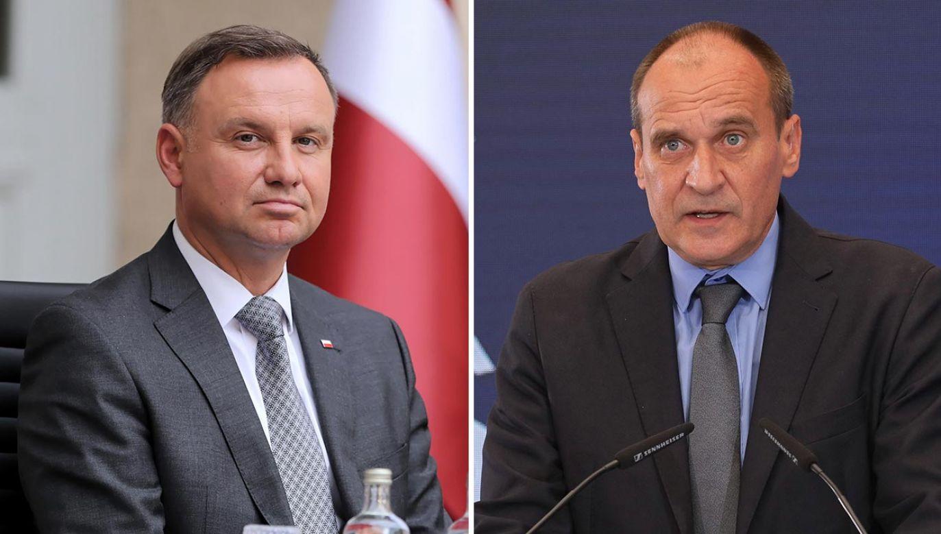 Prezydent Andrzej Duda ma spotkać się z Pawłem Kukizem (fot. PAP/Wojciech Olkuśnik, Paweł Supernak)