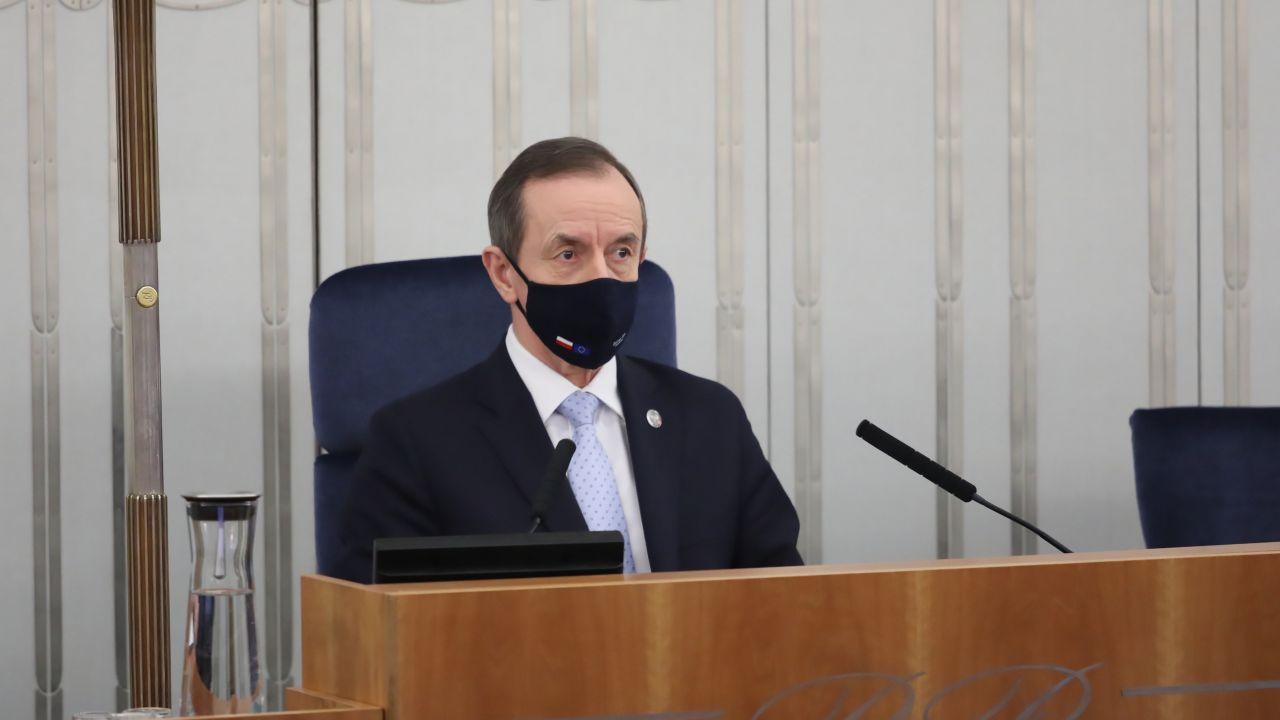 Marszałek Senatu RP Tomasz Grodzki (fot. PAP/Tomasz Gzell)