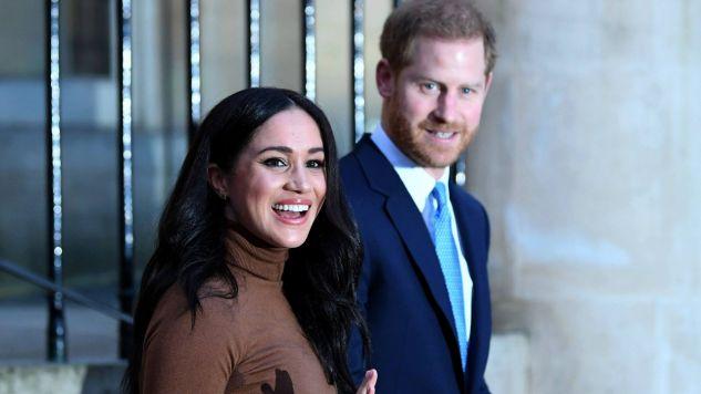 Harry i Meghan zachowają prawo do tytułów Jego/Jej Królewskiej Wysokości (HRH)  (fot. arch. PAP/Photoshot)