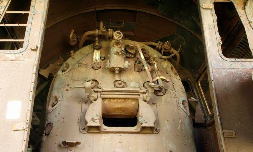 Palenisko kotła Pt31-49 w Muzeum Przemysłu i Kolejnictwa na Śląsku (2012). Fot. AlfvanBeem - Praca własna, CC0, https://commons.wikimedia.org/w/index.php?curid=19989292