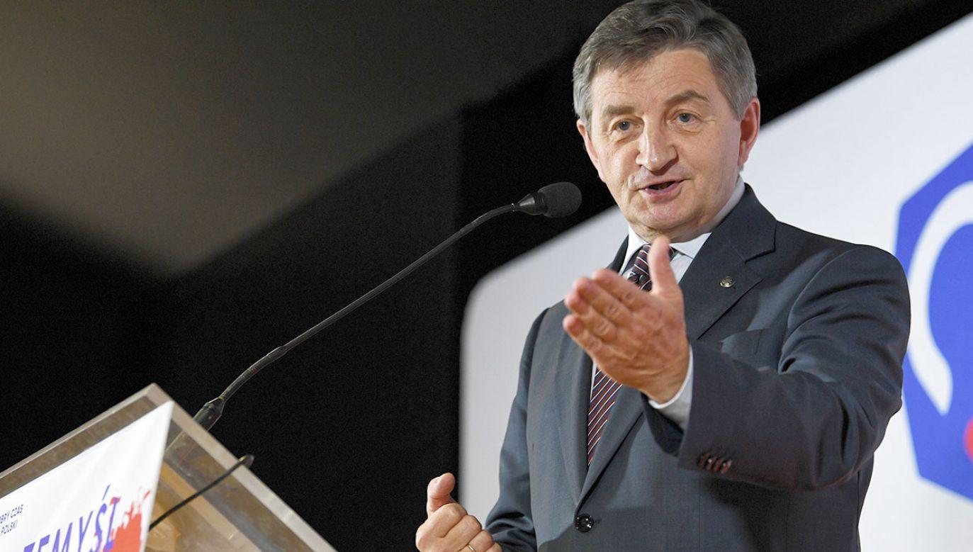 Marek Kuchciński z funkcji marszałka Sejmu zrezygnował 8 sierpnia (fot. arch.PAP/Darek Delmanowicz)