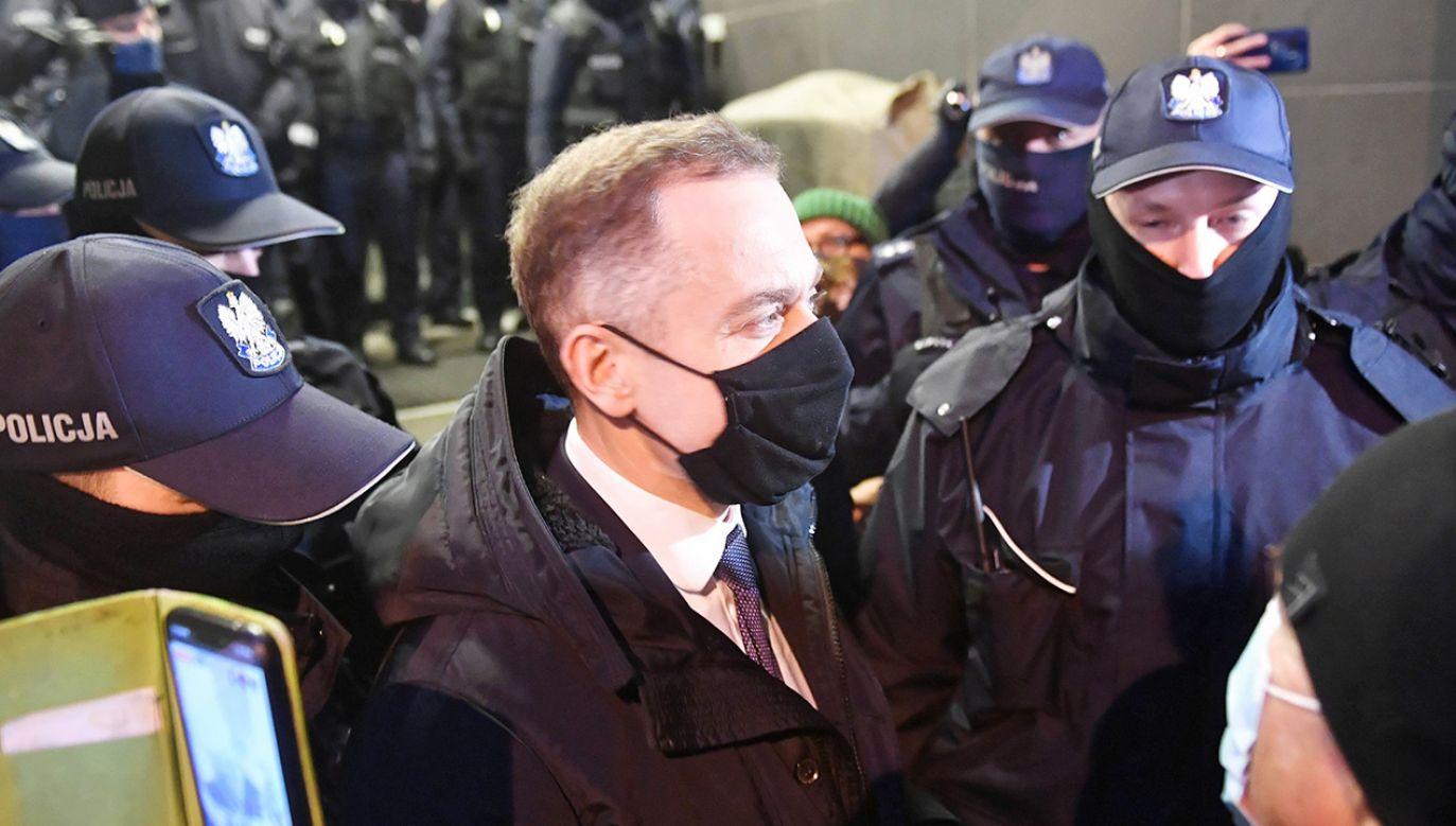 Politycy opozycji są stałymi gośćmi na manifestacjach Marty Lempart (fot. PAP/Radek Pietruszka)