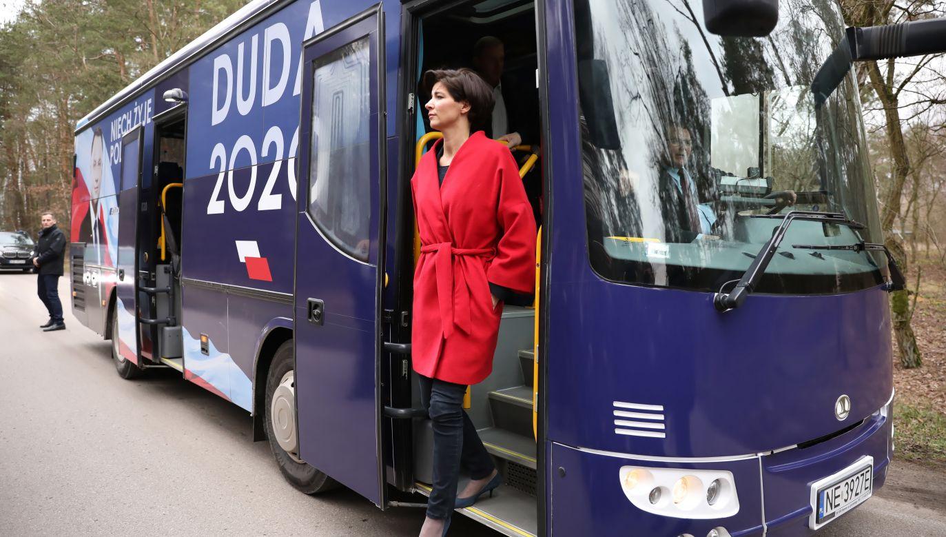 Jolanta Turczynowicz-Kieryłło została szefową sztabu wyborczego prezydenta Andrzeja Dudy (fot. PAP/Leszek Szymański)