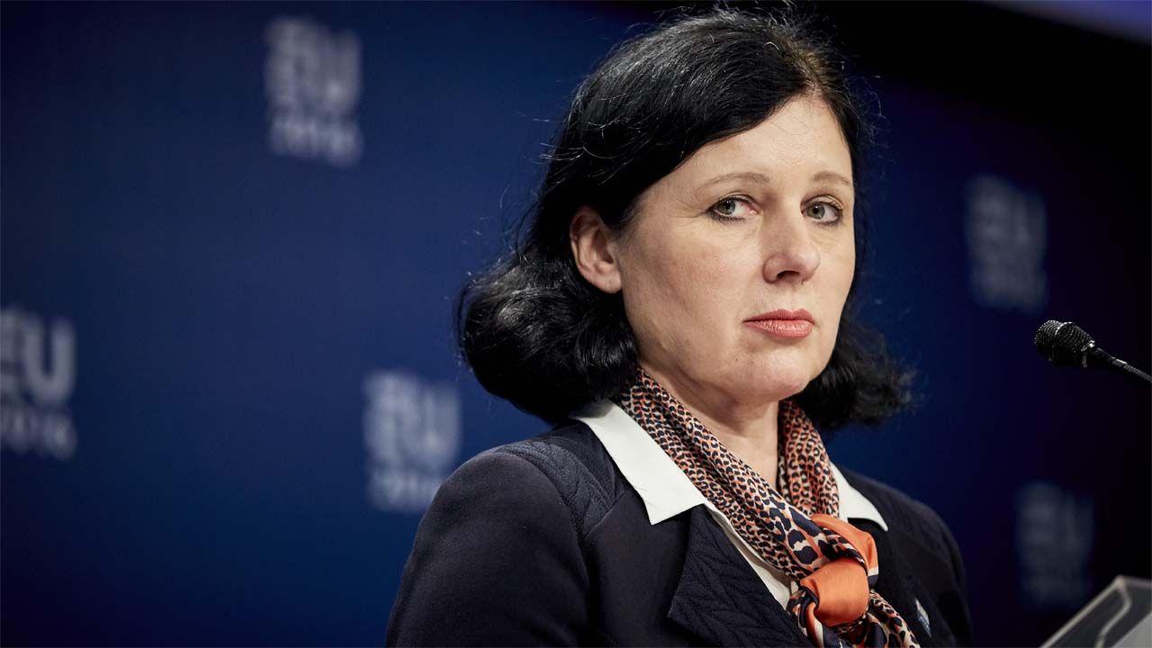 Wiceszefowa KE Viera Jourova (fot. Wiki 2.0/EU2016 NL)