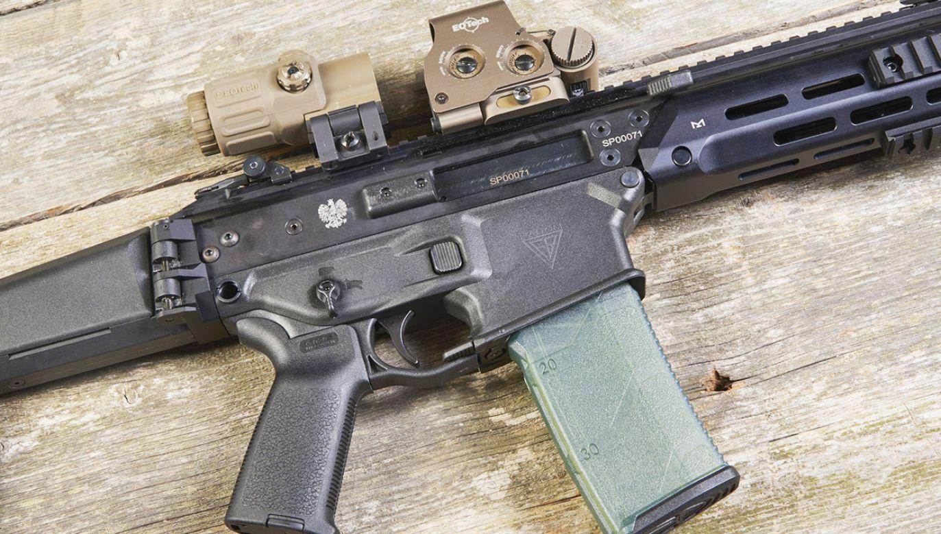 To już kolejna partia broni, którą Łucznik wyprodukuje dla Straży Granicznej (fot. Fabryka Broni w Radomiu)