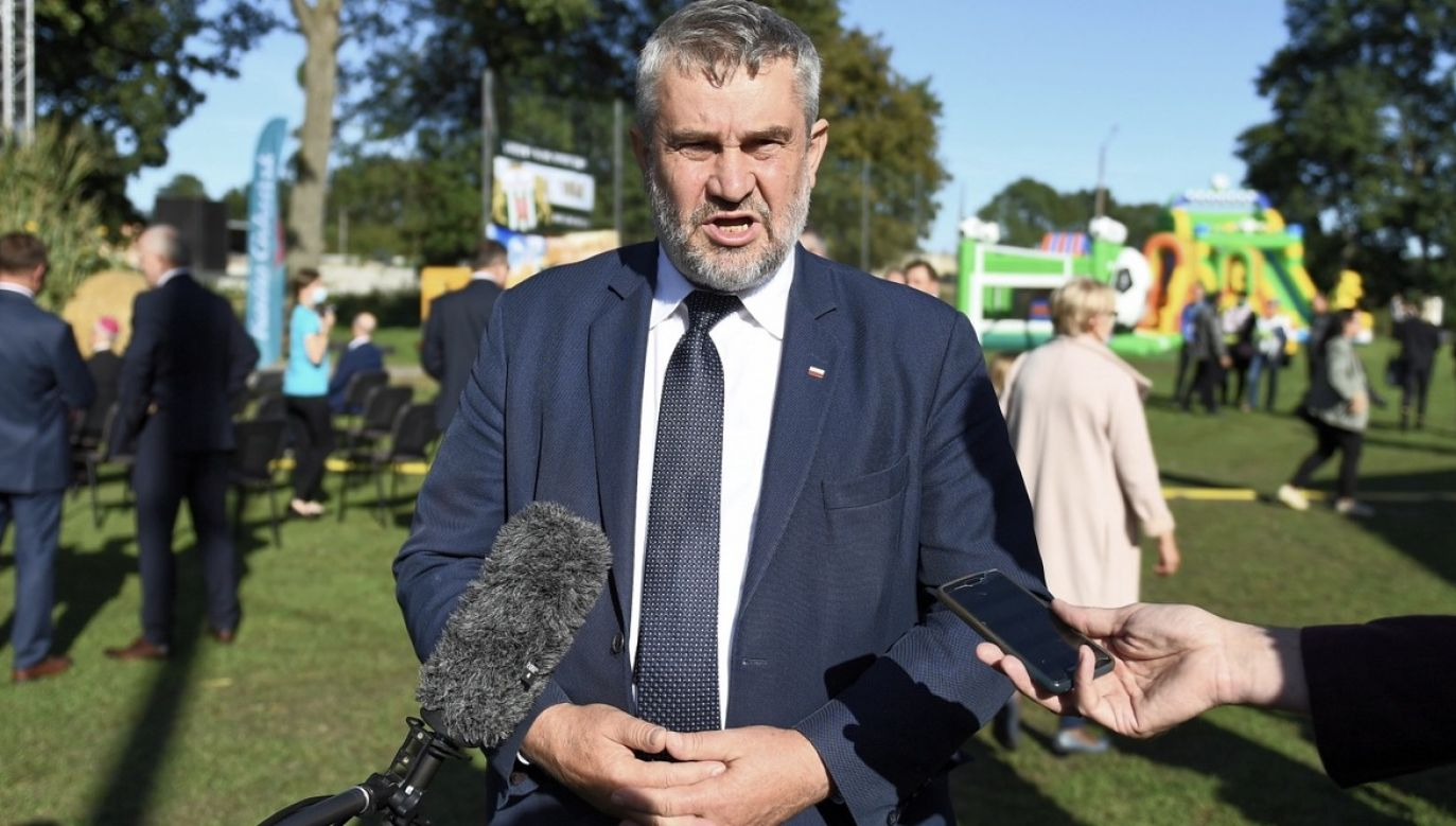 Ardanowski odejdzie z rządu? (fot. PAP/Marcin Gadomski)