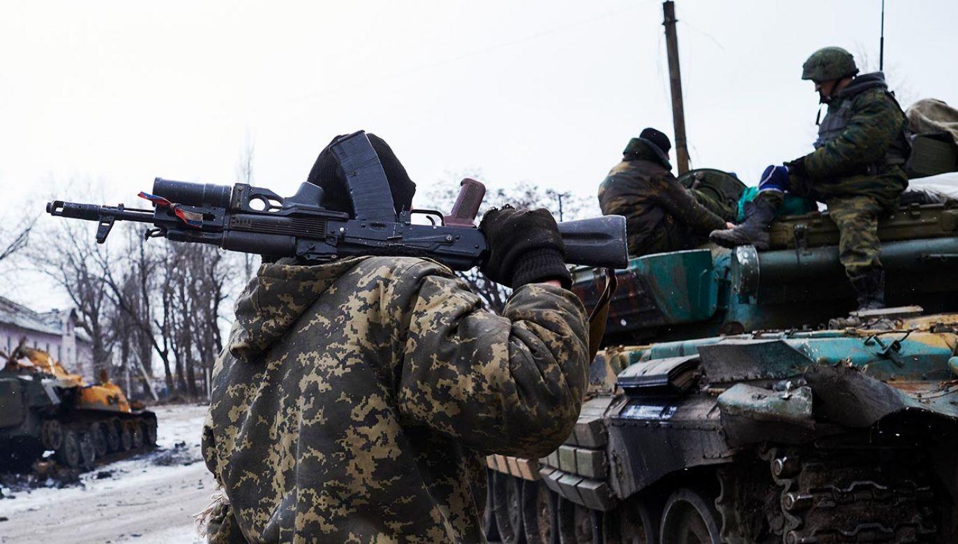 Zdaniem szefa ukraińskiego wywiadu wojskowego  istnieje duże ryzyko użycia siły militarnej przez Rosję (fot. Pierre Crom/Getty Images)