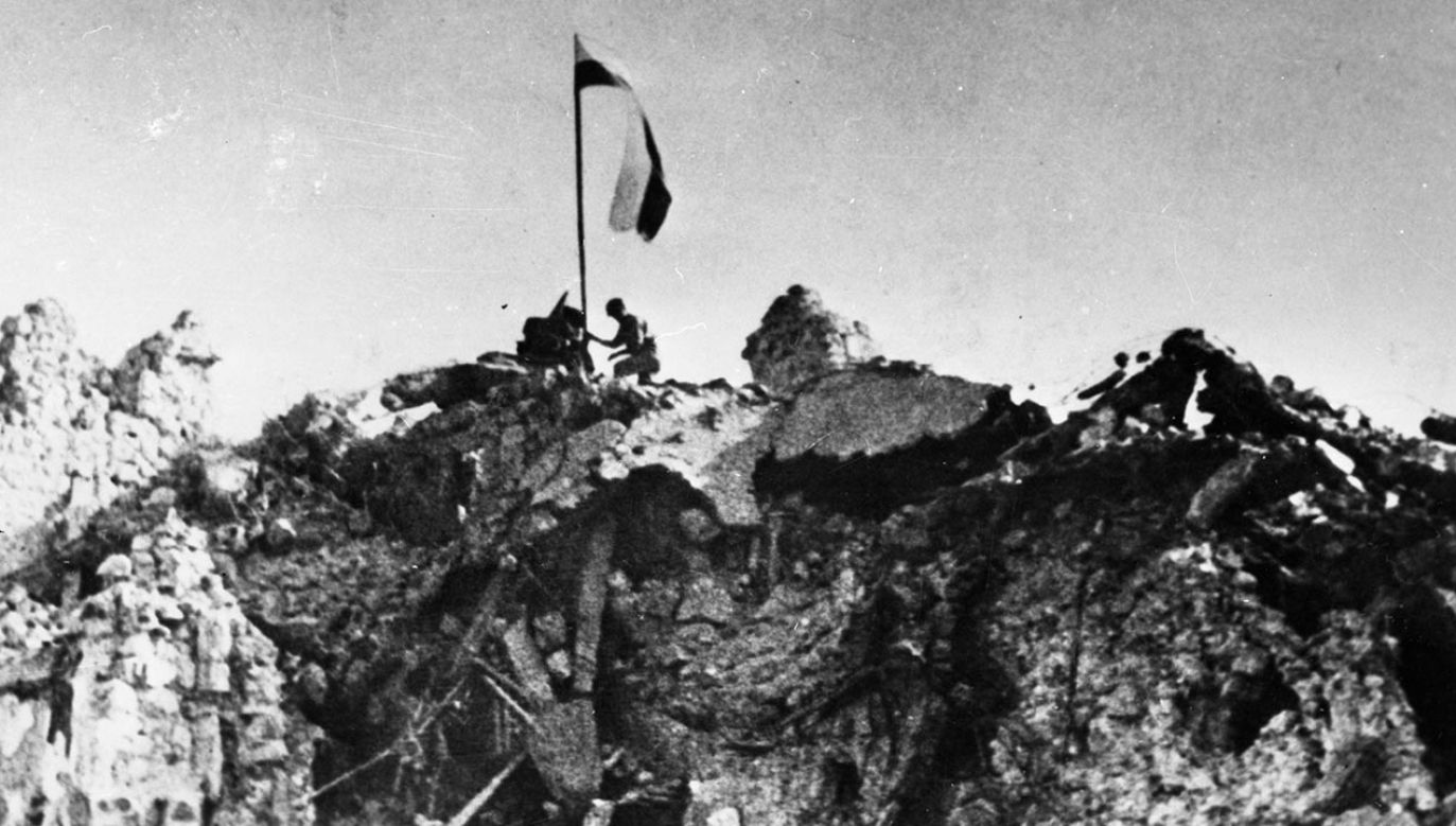 Rocznica zdobycia Monte Cassino (fot. PAP/CAF)