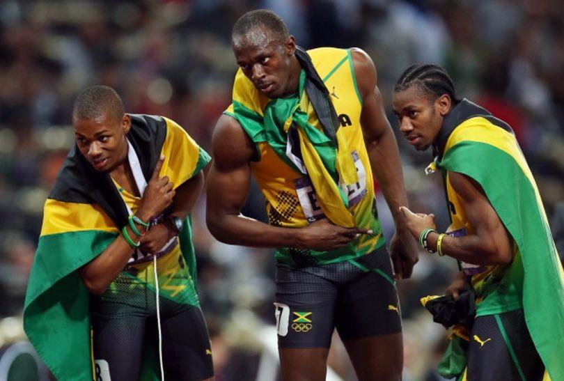 Całe podium należy do Jamajczyków (fot.Getty Images)