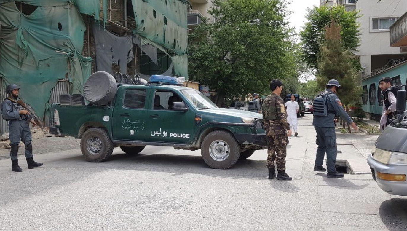 Władze Afganistanu twierdziły, że ofiary zginęły w ataku talibów (fot. Sayed Khodaiberdi Sadat/Anadolu Agency via Getty Images)