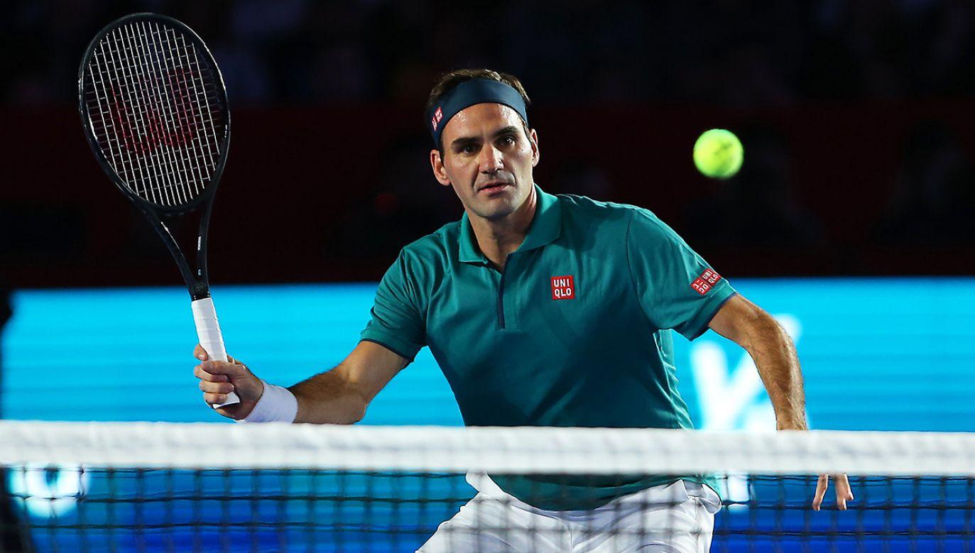 Roger Federer – jako pierwszy żyjący Szwajcar – ma swoją monetę. (fot. Angel Castillo/Jam Media/Getty Images)