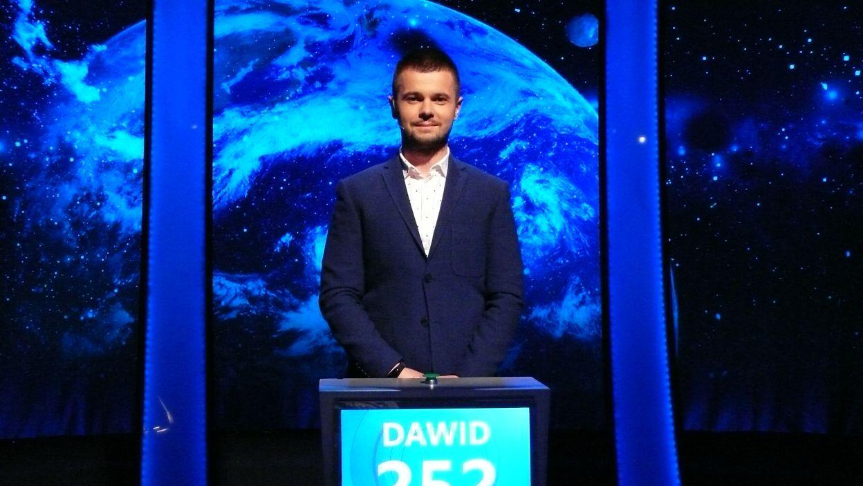 Dawid Panek - zwycięzca 11 odcinka 115 edycji