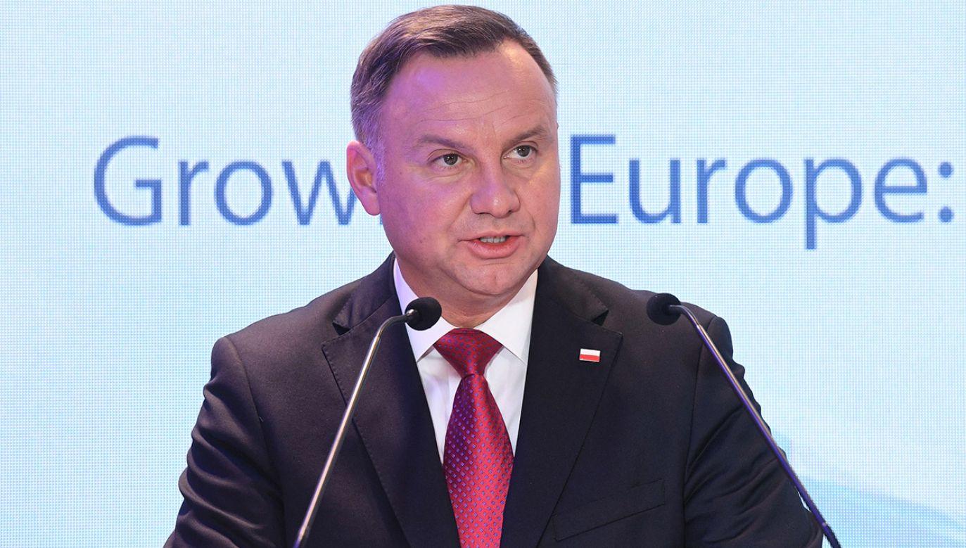 Prezydent uważa, że jego protest okazał się skuteczny (fot. PAP/Radek Pietruszka)