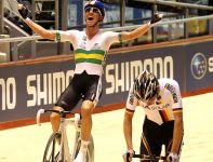Cameron Meyer wygrał wyścig punktowy na 40 km (fot. Getty Images)