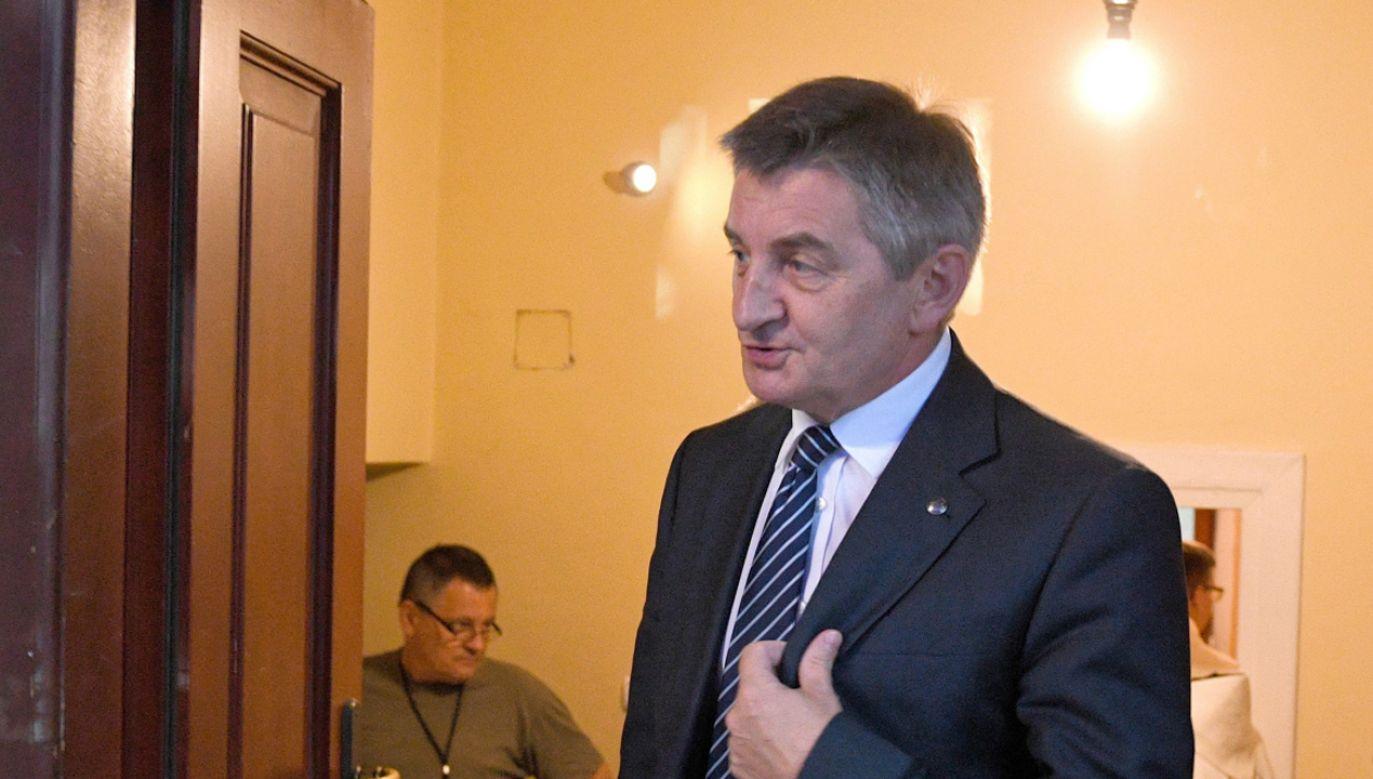 Na ostatnim posiedzeniu Sejmu Kuchciński złożył rezygnację z funkcji marszałka Sejmu (fot. PAP/Darek Delmanowicz)