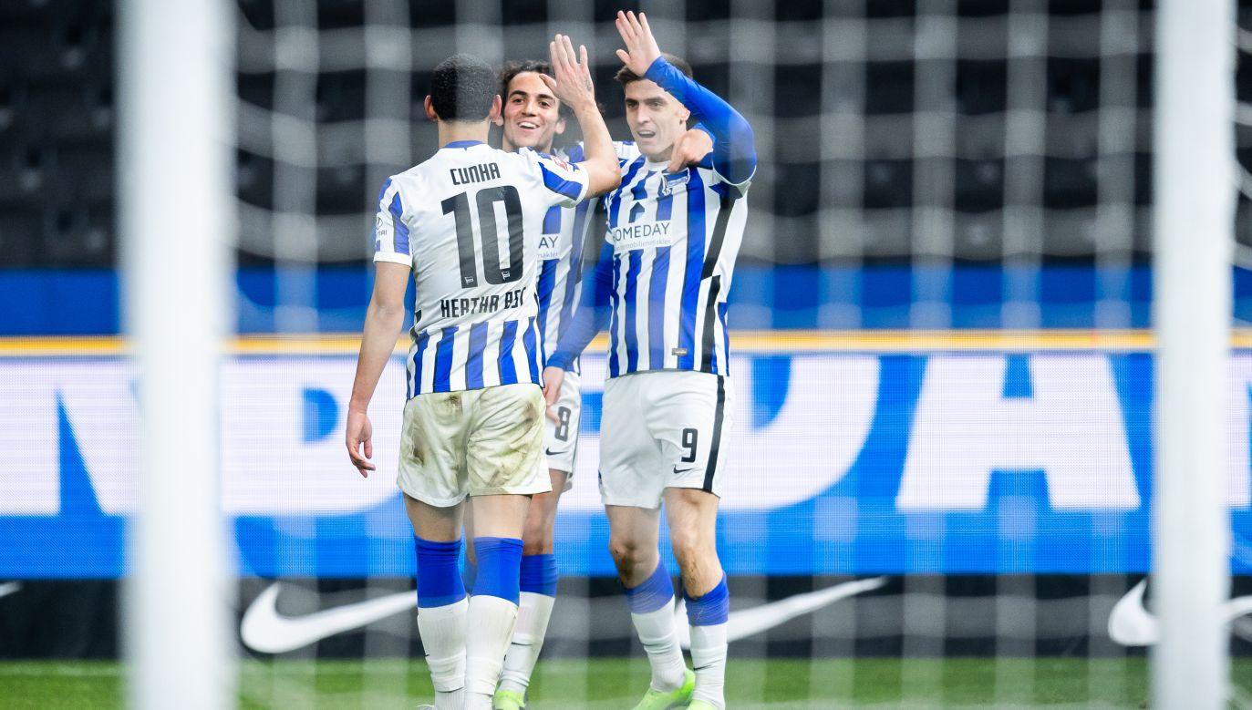 Hertha, z Krzysztofem Piątkiem w składzie, to jeden z dwóch berlińskich klubów w Bundeslidze (fot. Getty Images)